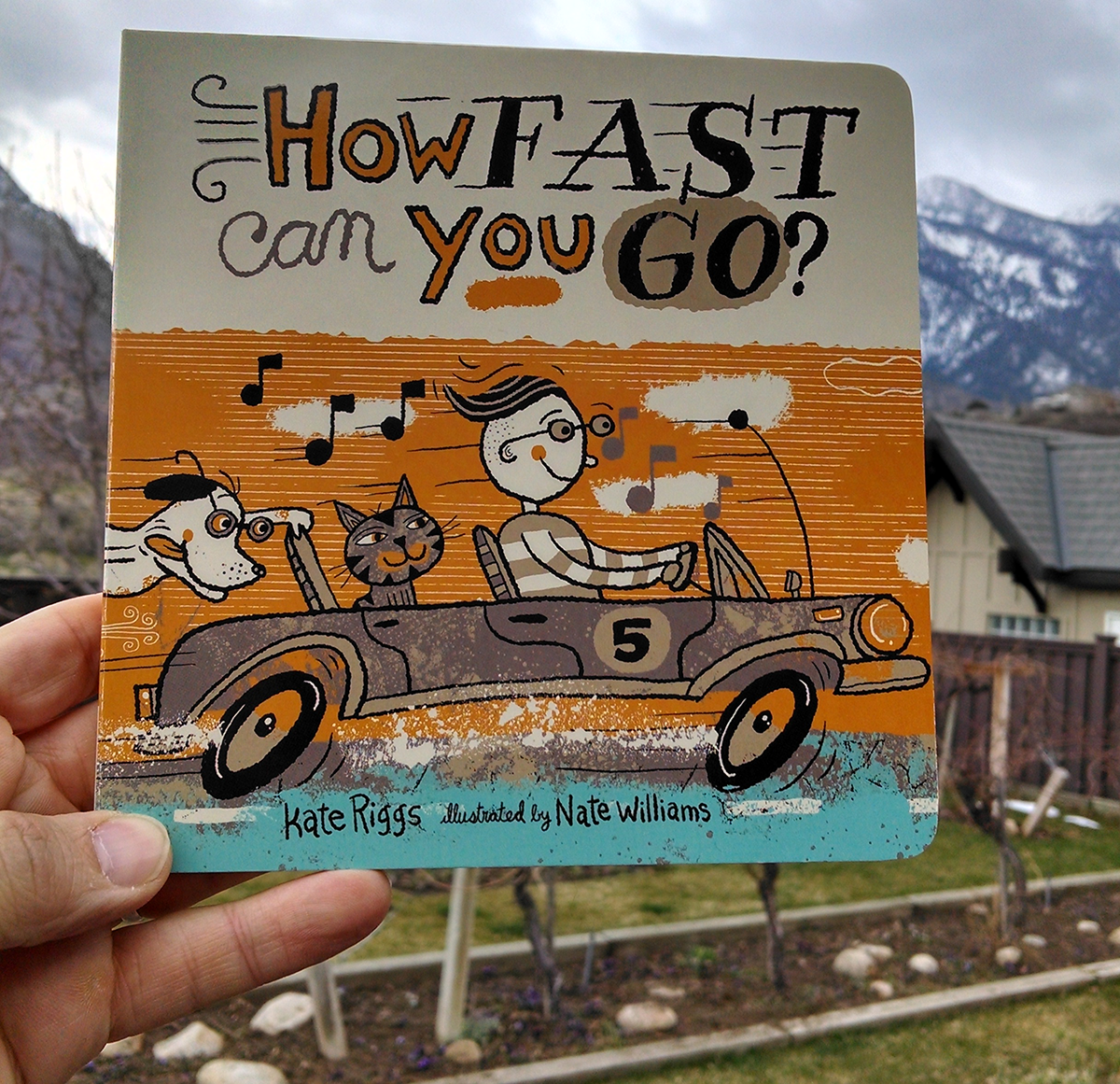 How FAST can you GO? - A board book for young readers published by Creative Editions.AVAILABLE ON AMAZON