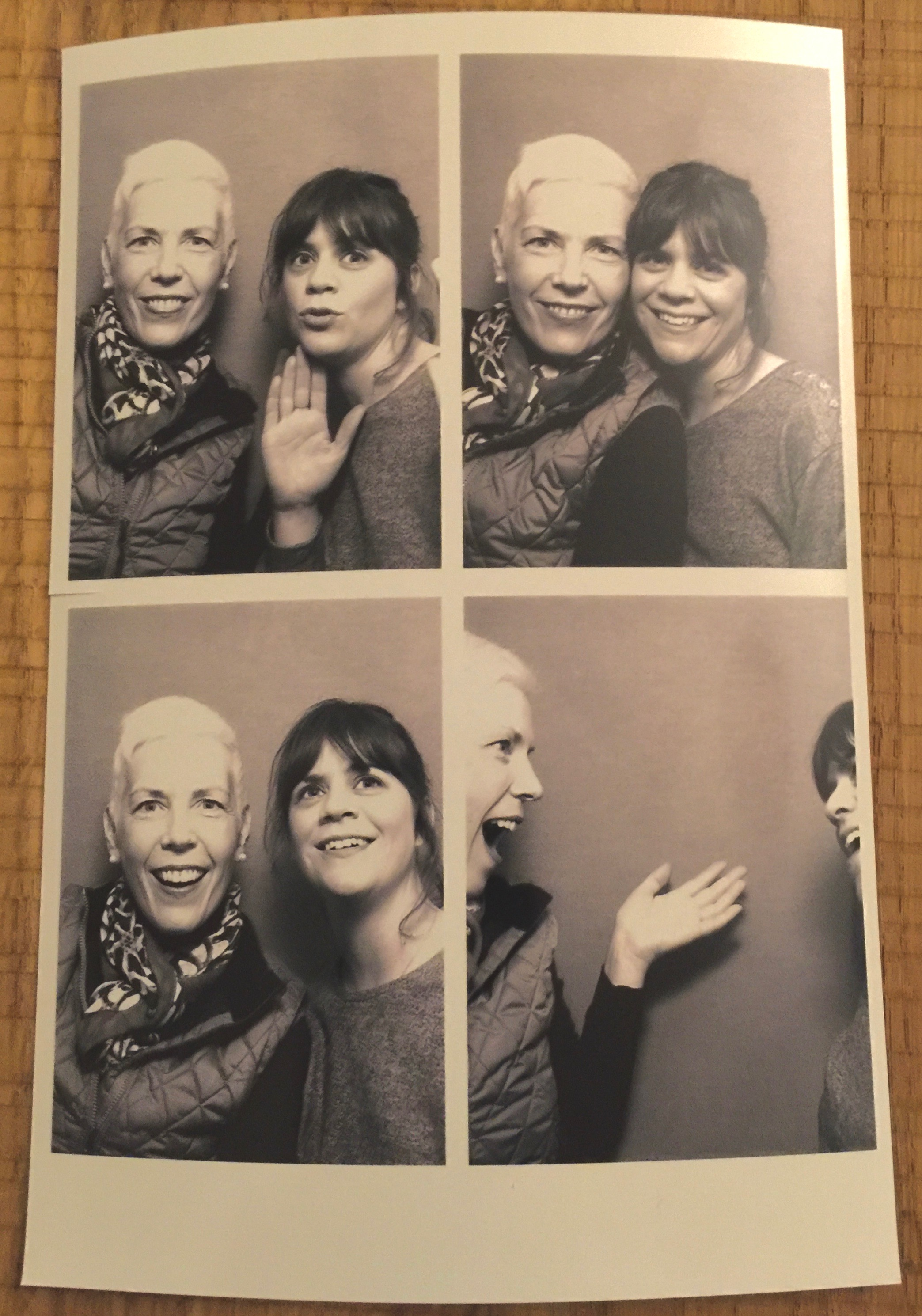 Who can resist a photo booth?