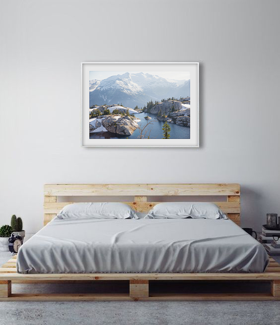 Framed Print Display -Alpine LAkes Wilderness.jpg