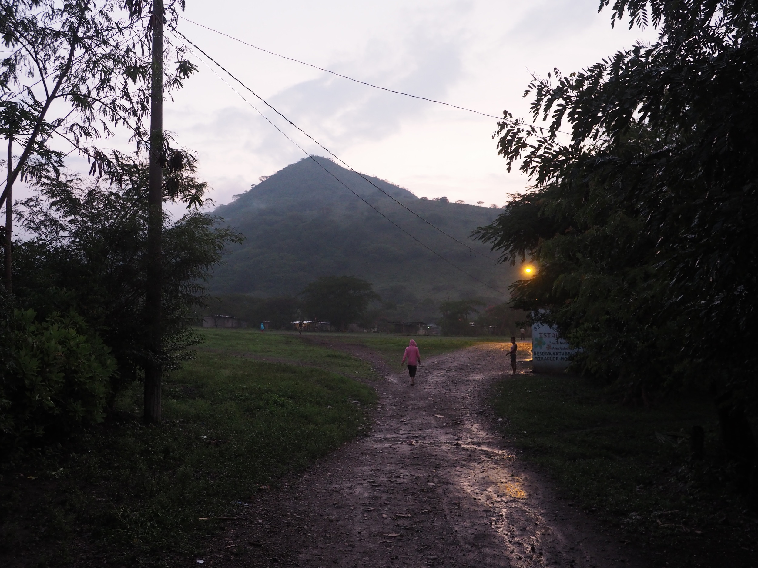 Isiquí after the rain.