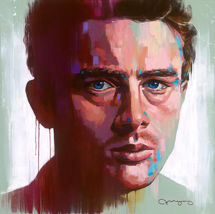 """James Dean #336"""" x 36"""" acrylic on canvas25% OFF -"""