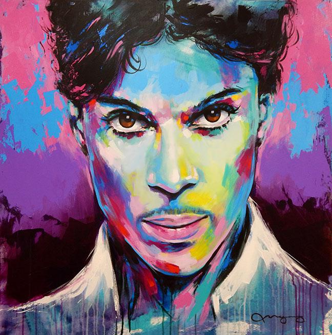 """Prince36"""" x 36"""" acrylic on canvas25% OFF -"""