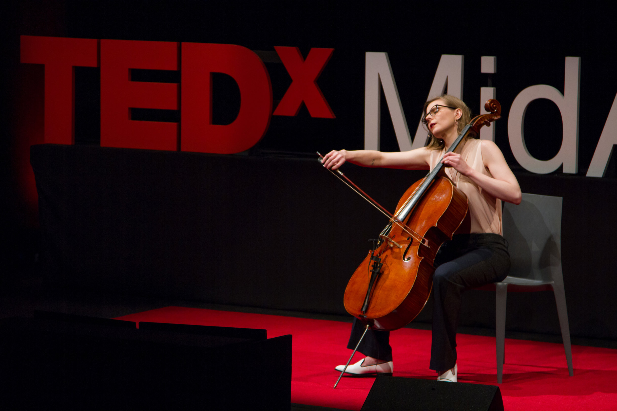 TEDx MidAtlantic performance