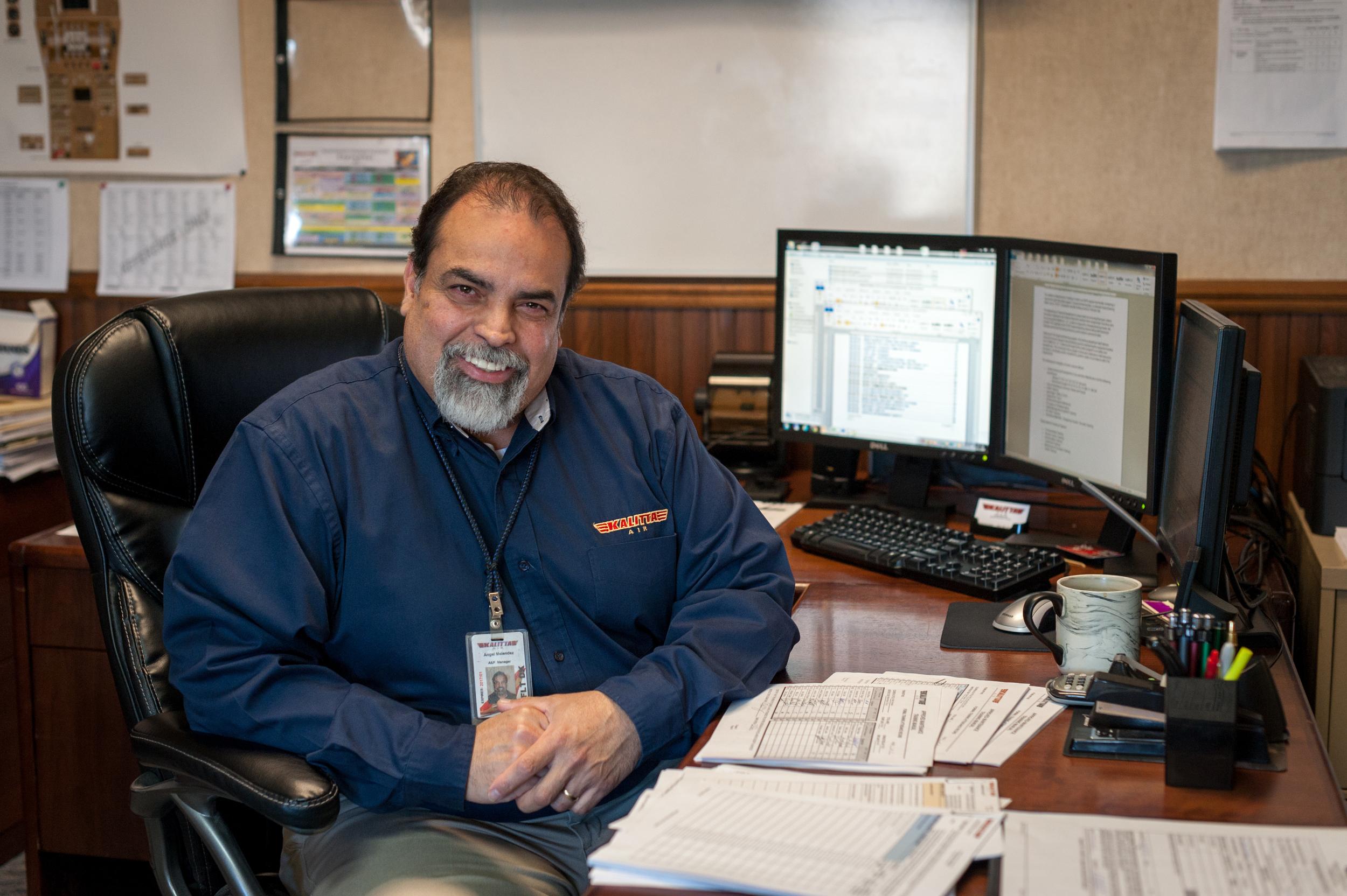 Angel Melendez- Manager of Maintenance Training