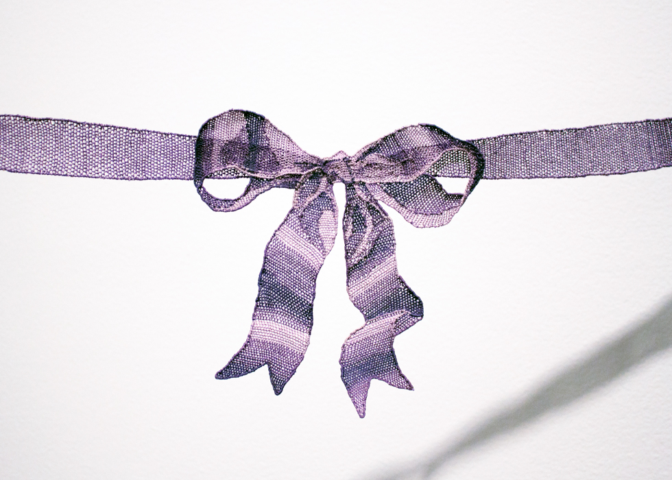 Tie with Ribbons (Detail)