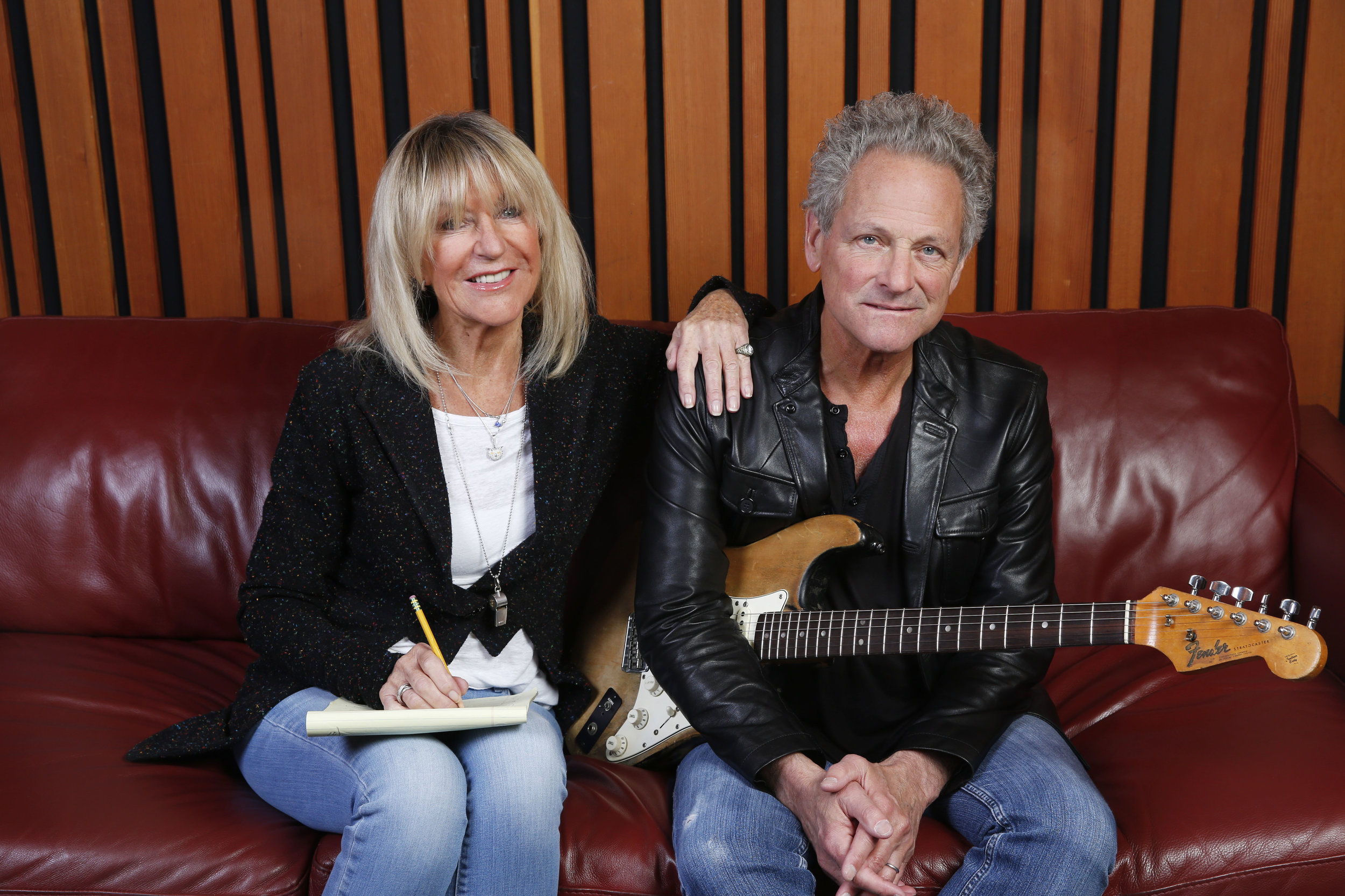 """Christine McVie and Lindsey Buckingham have announced a collaborative album tentatively called """"Buckingham McVie."""" Mr. Roberts interviewed the two, and broke the news of the collaboration."""