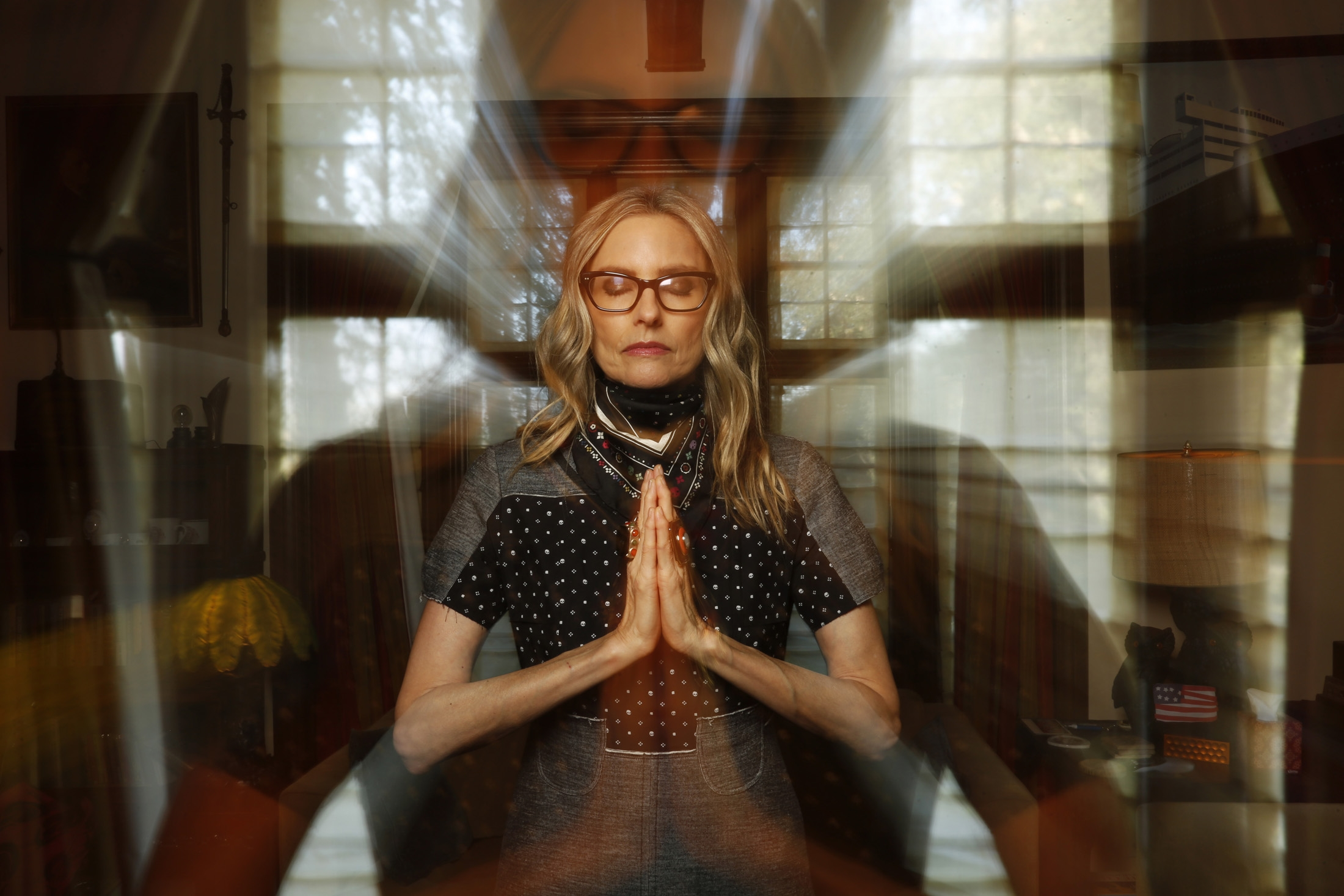 Aimee Mann, shot in her Los Angeles home by the L.A. Times' great Genaro Molina. (Genaro Molina/Los Angeles Times)