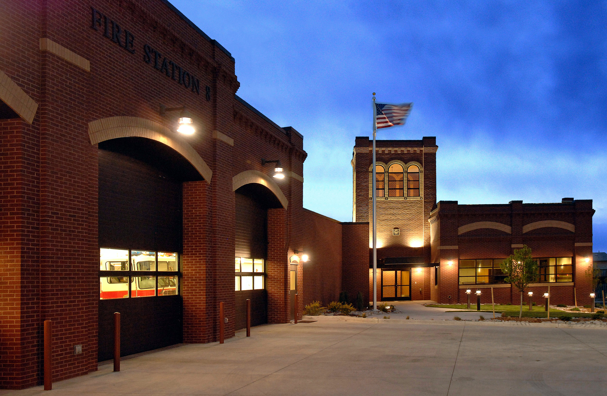 FIRE STATION No. 8 - Colorado Springs, CO