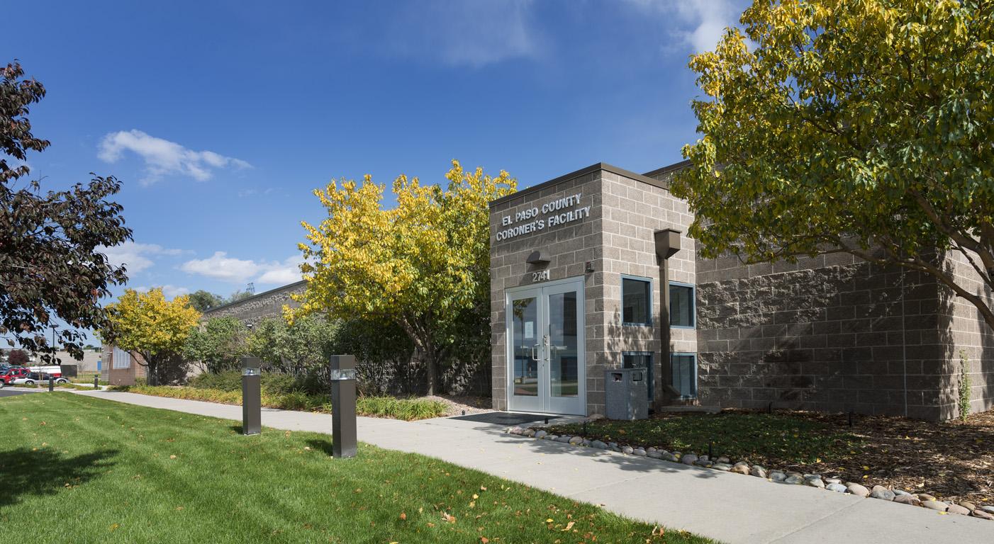 CORONER'S OFFICE EXPANSION & ADDITION - Colorado Springs, CO