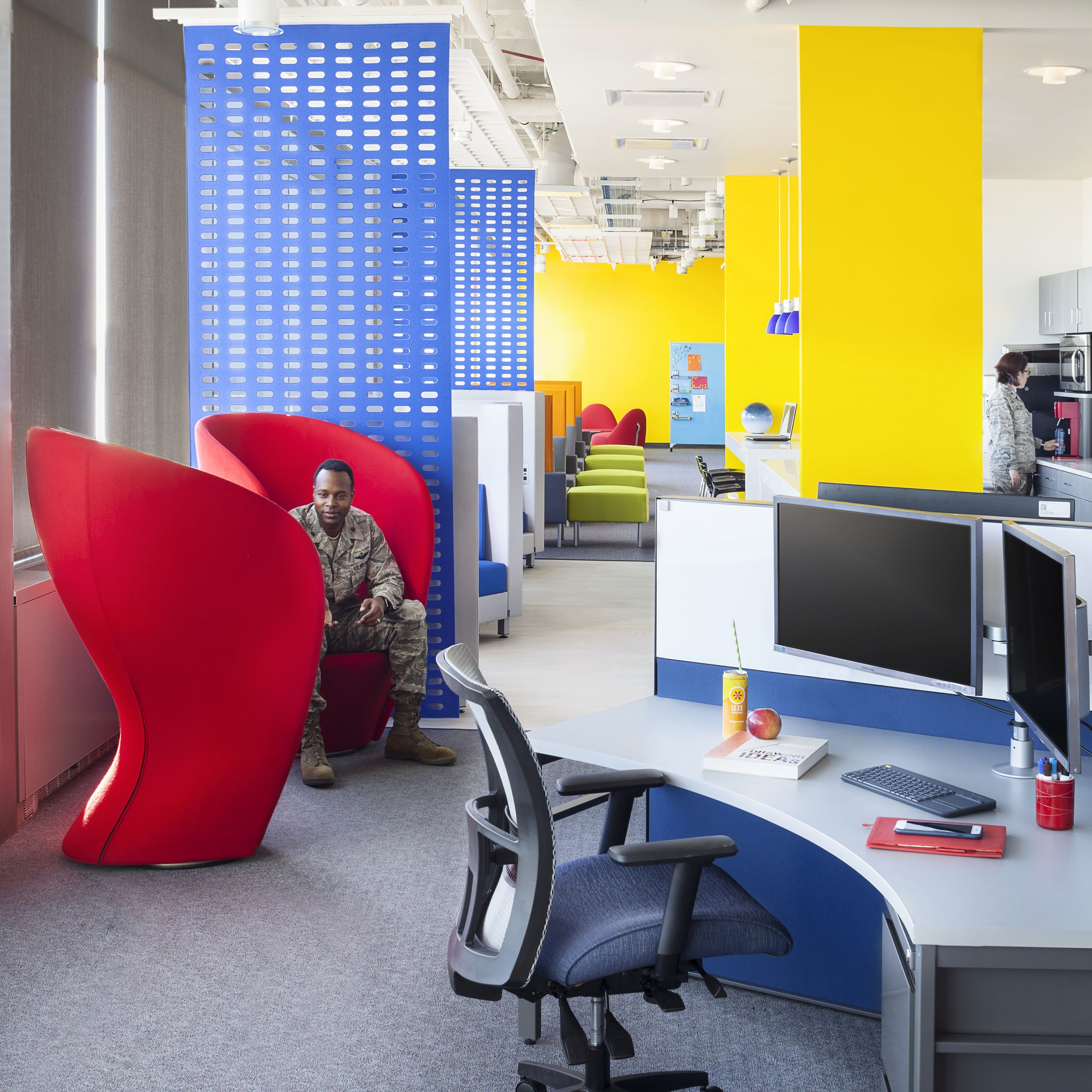 CYBERWORX COLLABORATIVE SPACE - United States Air Force Base, CO