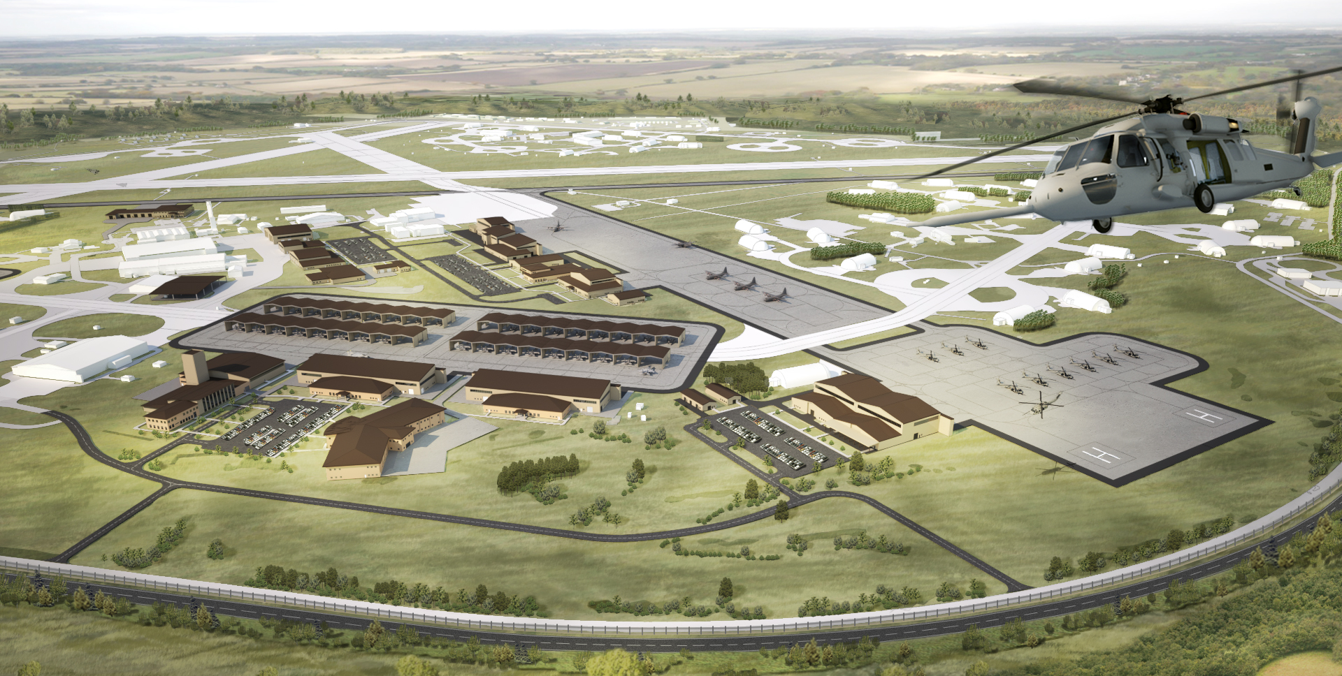 AIRFIELD AREA DEVELOPMENT PLAN - Royal Air Force Lakenheath, UK