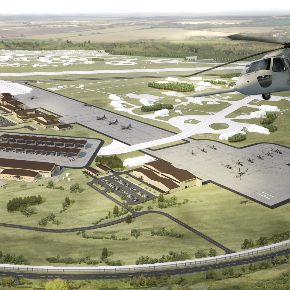 LAKENHEATH AREA DEVELOPMENT PLAN - Royal Air Force Lakenheath, UK