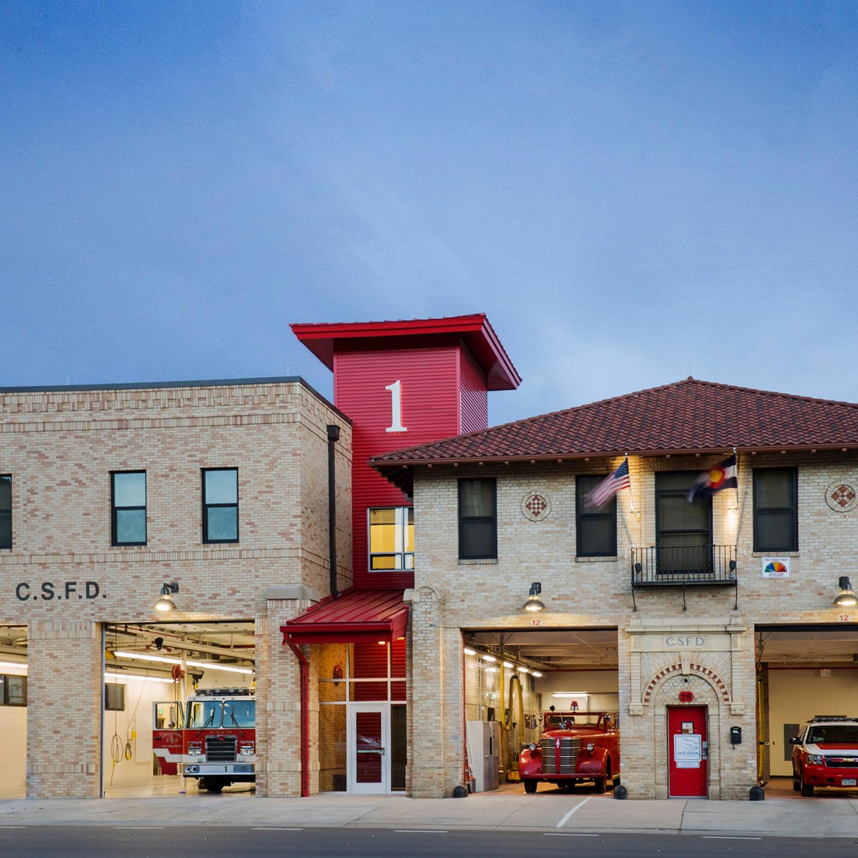FIRE STATION #1 RENOVATION - Colorado Springs, CO