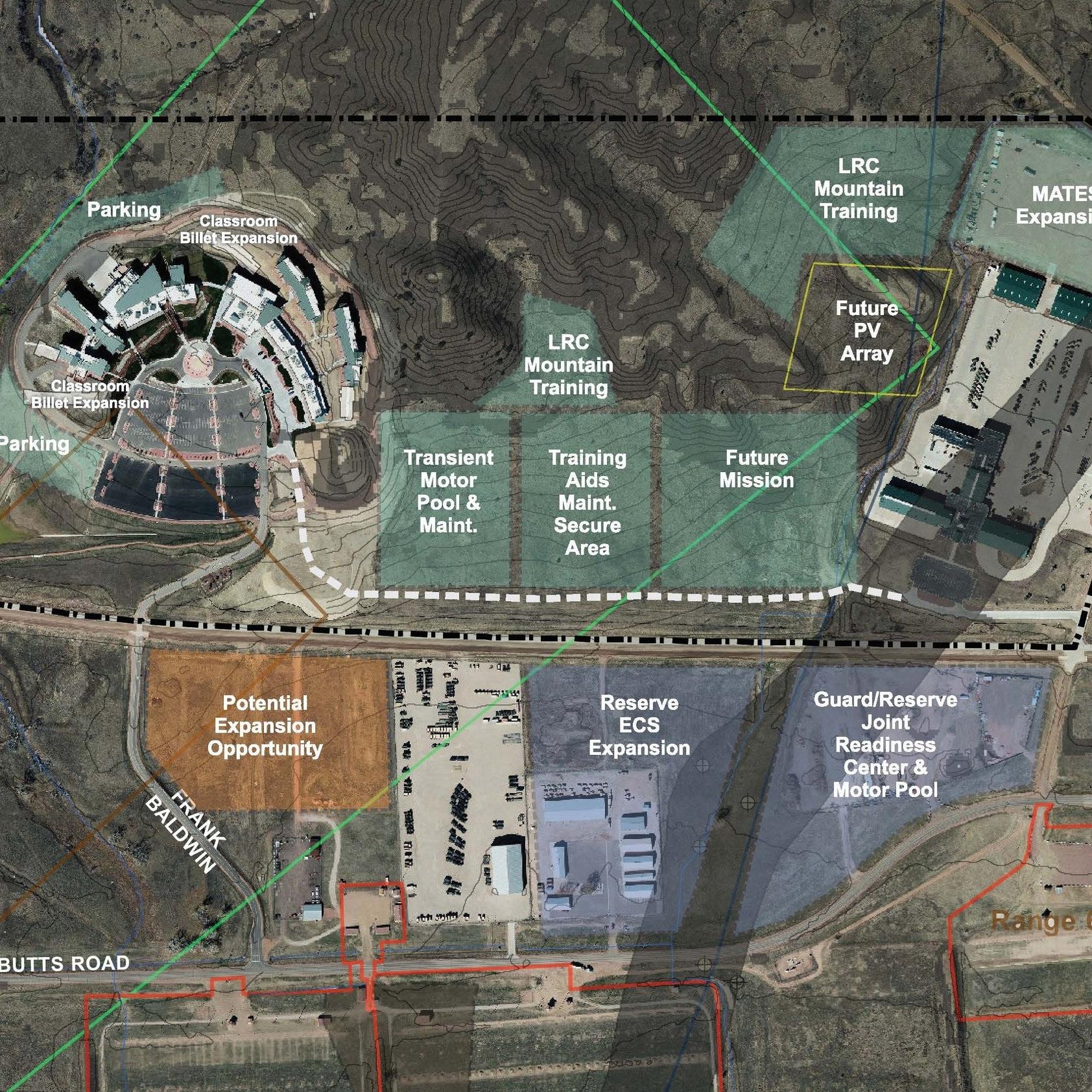 CENTENNIAL TRAINING CENTER AREA DEVELOPMENT PLAN - Fort Carson, CO