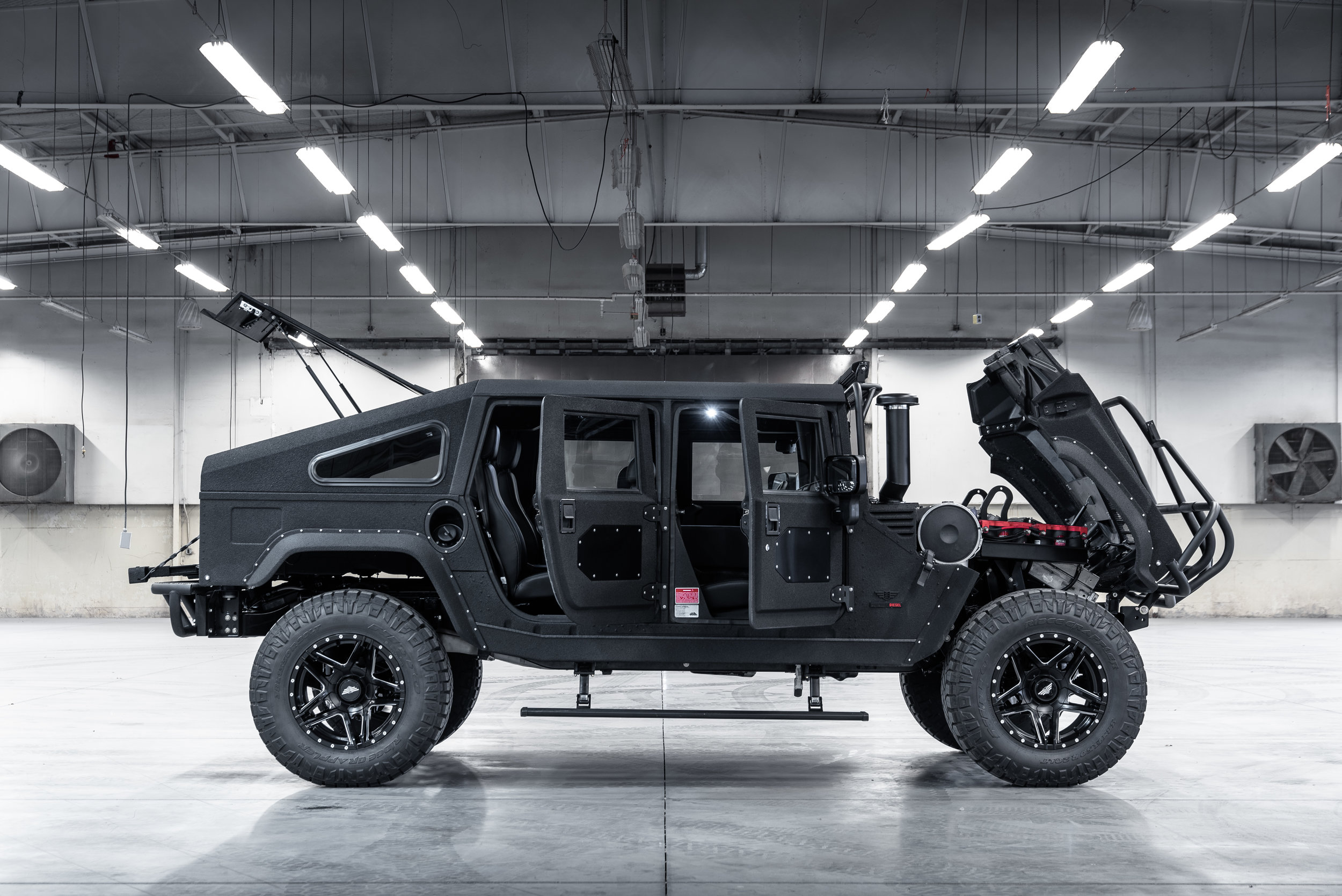 Re-Envisioned. - We took the iconic Hummer H1 and re-envisioned what it could be.