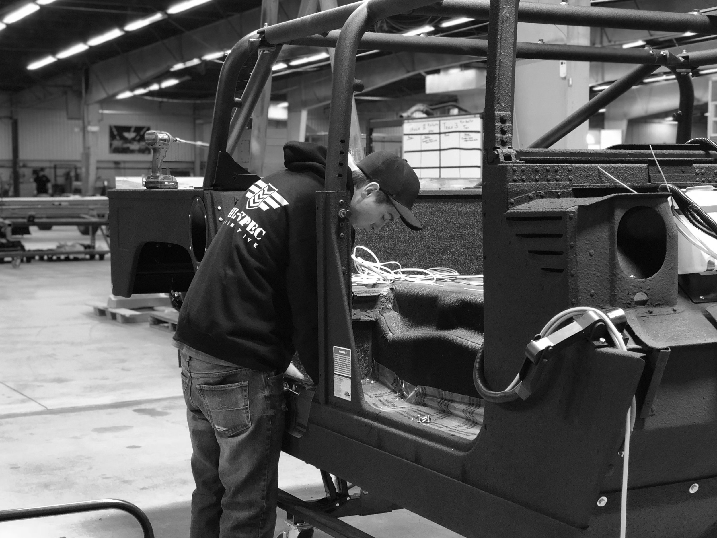A Tailored Experience - All MSA Launch Editions are hand-built and assembled by a small team of specialists exactly to your specifications.