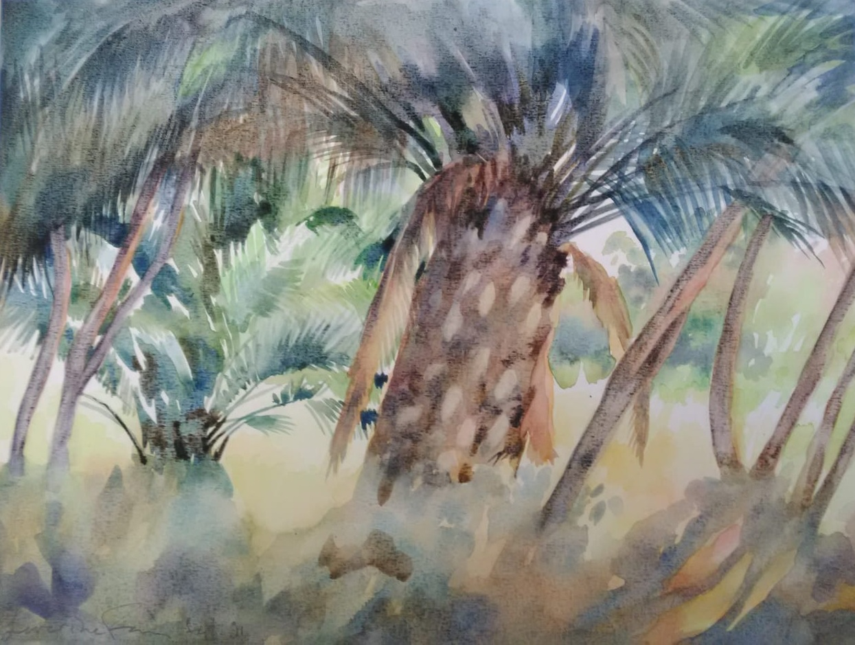 Palm Grove Porquerolles
