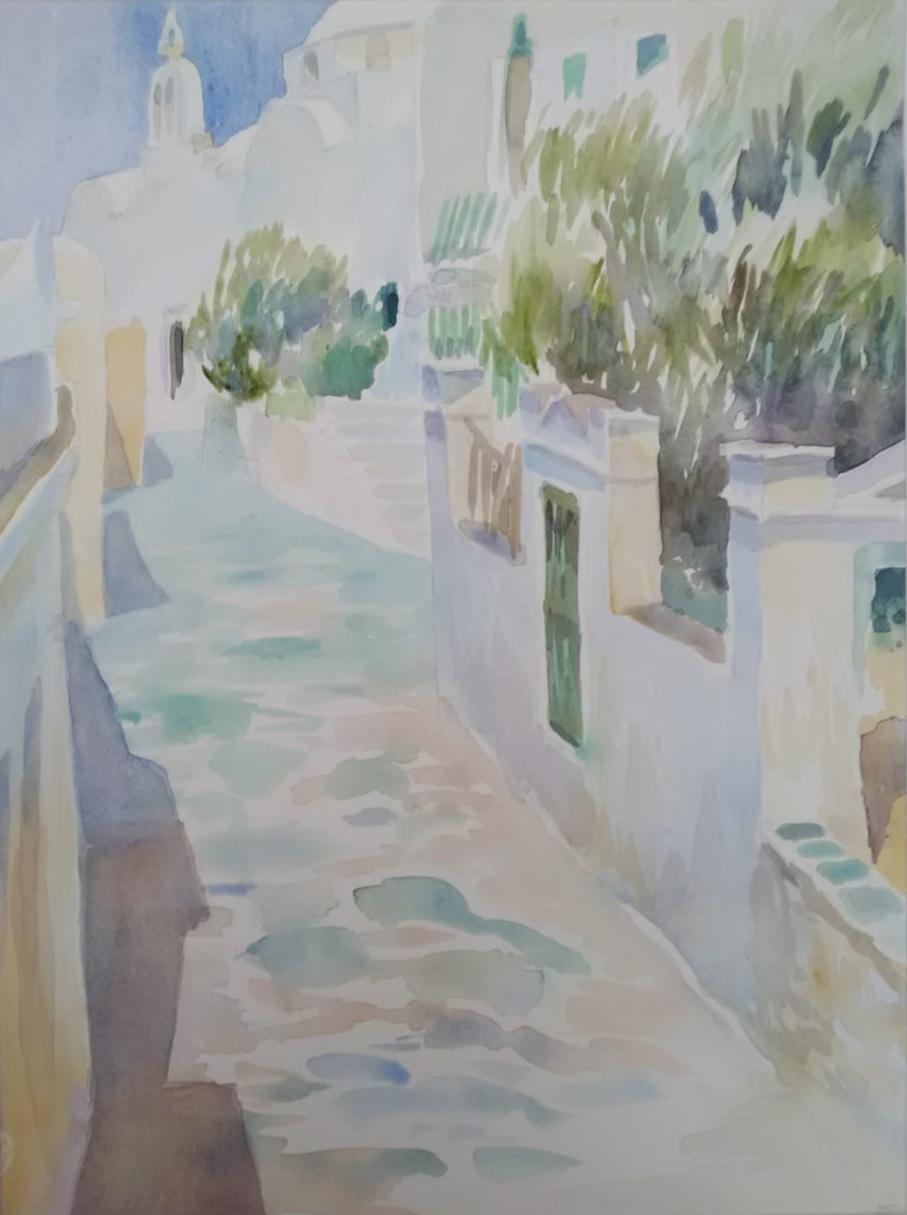 Street in Folegrandos