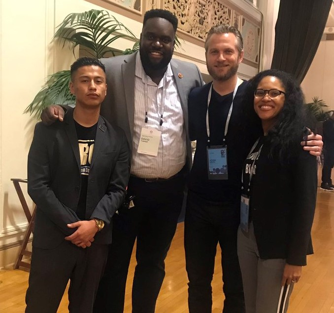 At MBK Rising! UPI's Josh Green joined partners from the LA Youth Uprising network.