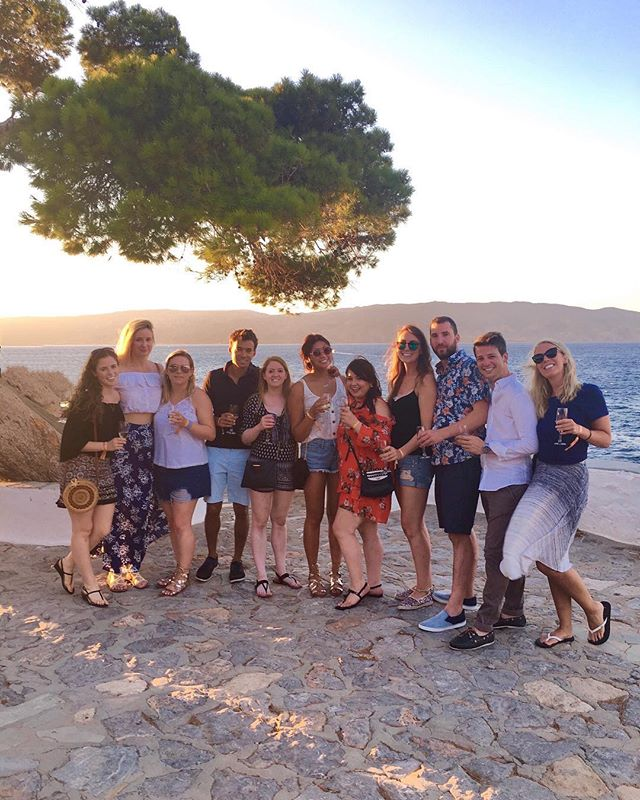 the most diabolical crew to ever cross the Aegean Sea 😜
