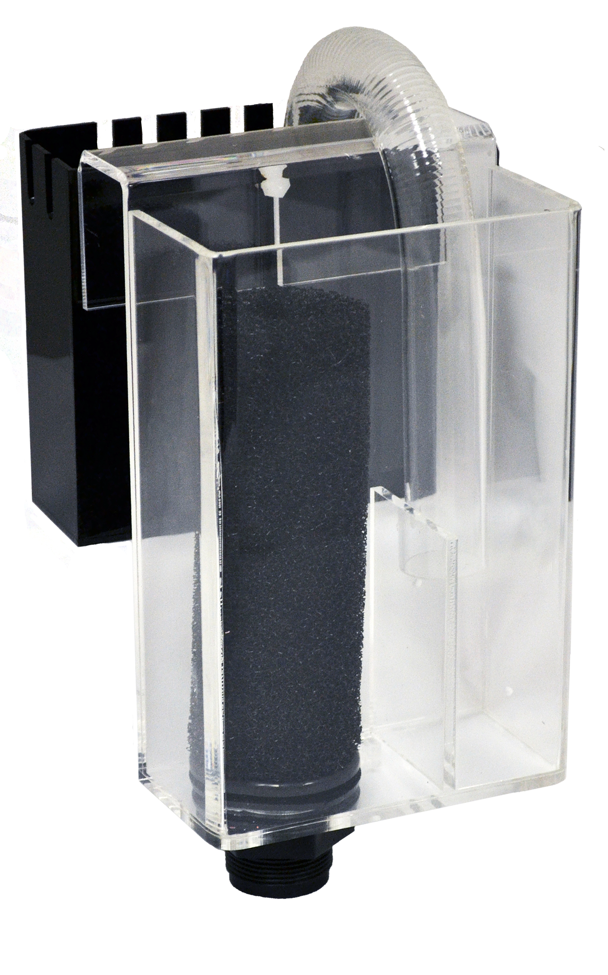 "Nano Overflow System     Optimal Tank Size: 10-20 gallons    SKU: AM87000    UPC#: 7-49729-87000-5    Product Size: 4x2.5x8""    Package Size: 6.5x5.25x9.25""    Package Weight: 2.2lbs.    Master Carton Size: 16.25x13x19""    Master Carton Weight: 26.4lbs.    Case Pack: 12pcs."