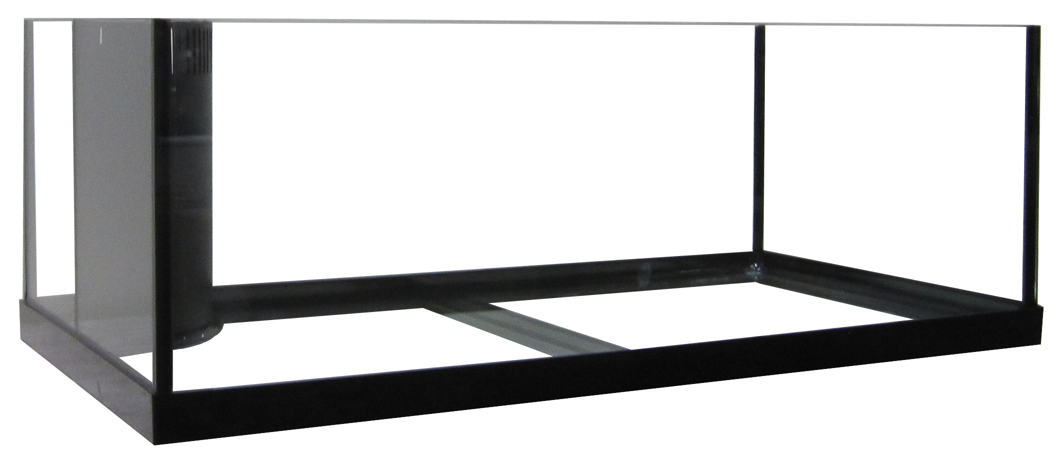 "34 Rimless Frag Reef Ready Aquarium - 36x18x12""   SKU#:AM13634  UPC#: 7-49729-13634-7  Product Dimension: 36.5""x18.5""x13""  Capacity: Approximately 34 gallons  Weight: 56.25 lbs"