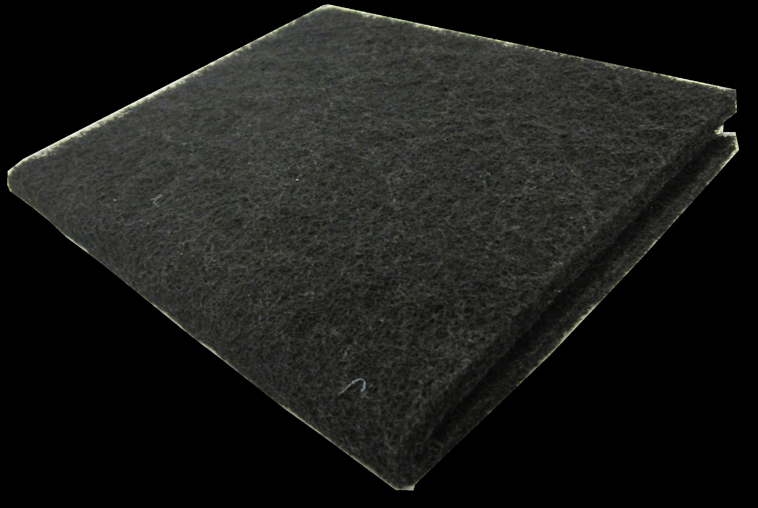 """18x10"""" Carbon Pad   SKU: AM41002  UPC#:7-49729-41002-7  Case Pack: 50pcs.  Master Carton Weight: 20lbs.  Master Carton Size :  33""""x22""""x11"""""""