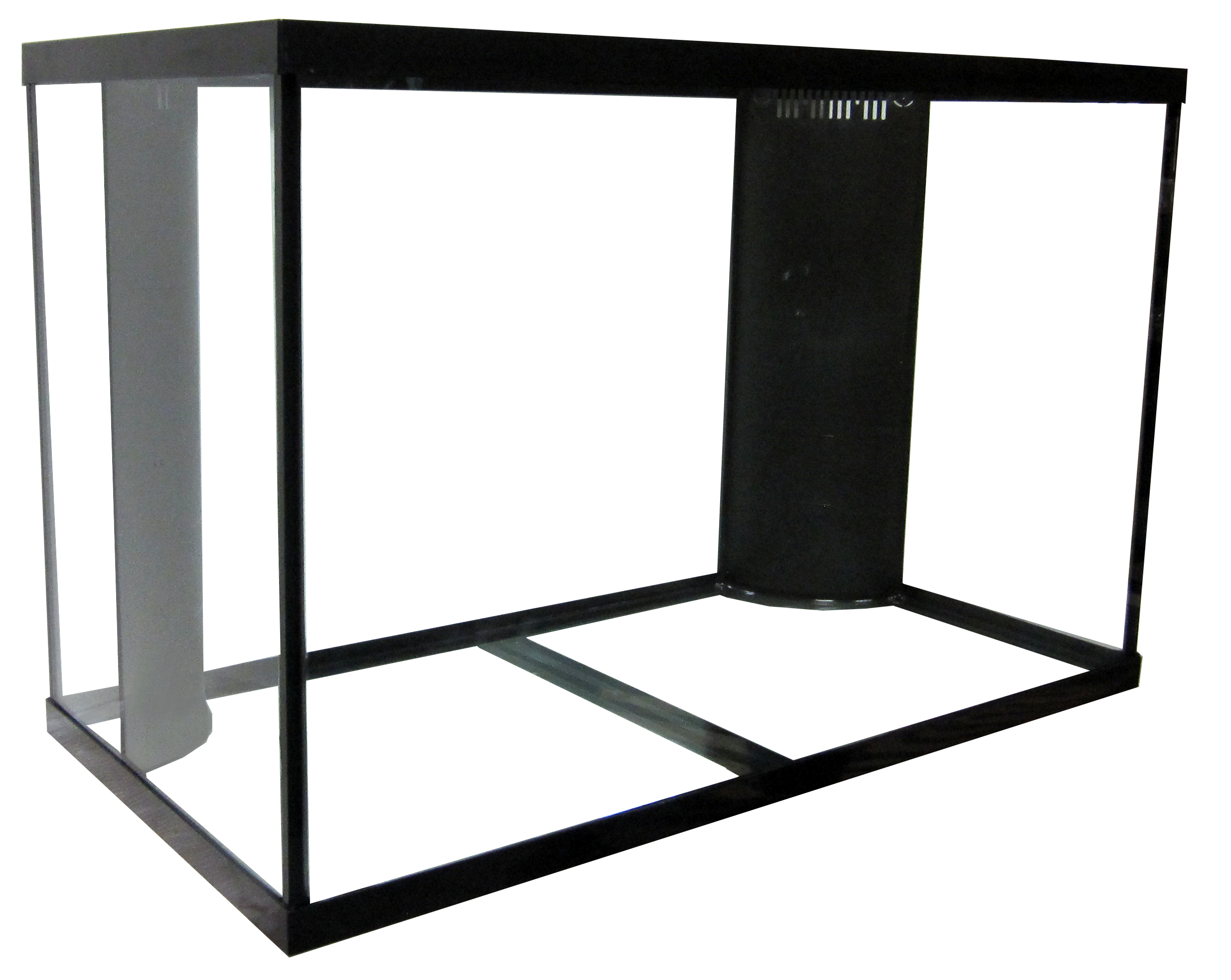 "150 Regular Dual Reef Ready Aquarium - 48x24x30""   SKU#: AM18152  UPC#: 7-49729-18152-1  Product Dimension: 48.5""x24.5""x31.38""  Capacity: Approximately 150 gallons  Weight: 195.4 lbs"
