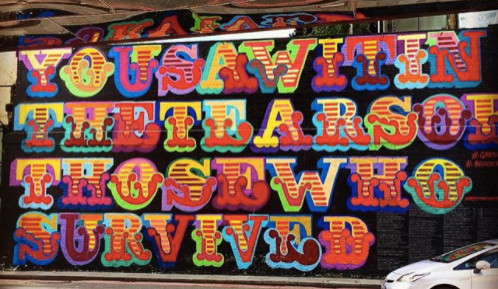 1. - Graffiti artist has opened an East London pop up and wants personal data in exchange for admission!