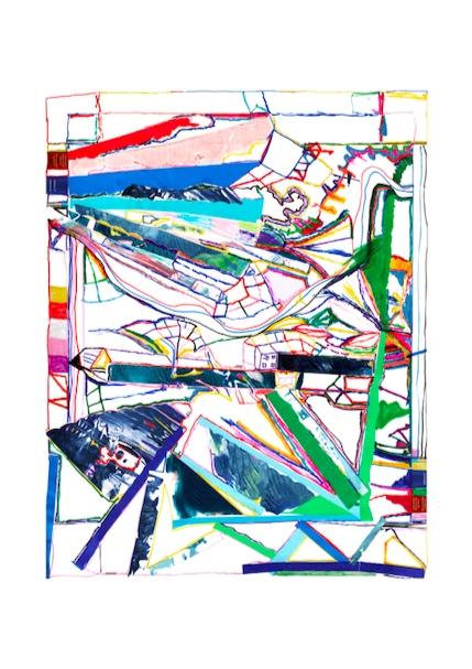 Abstract Jigsaw