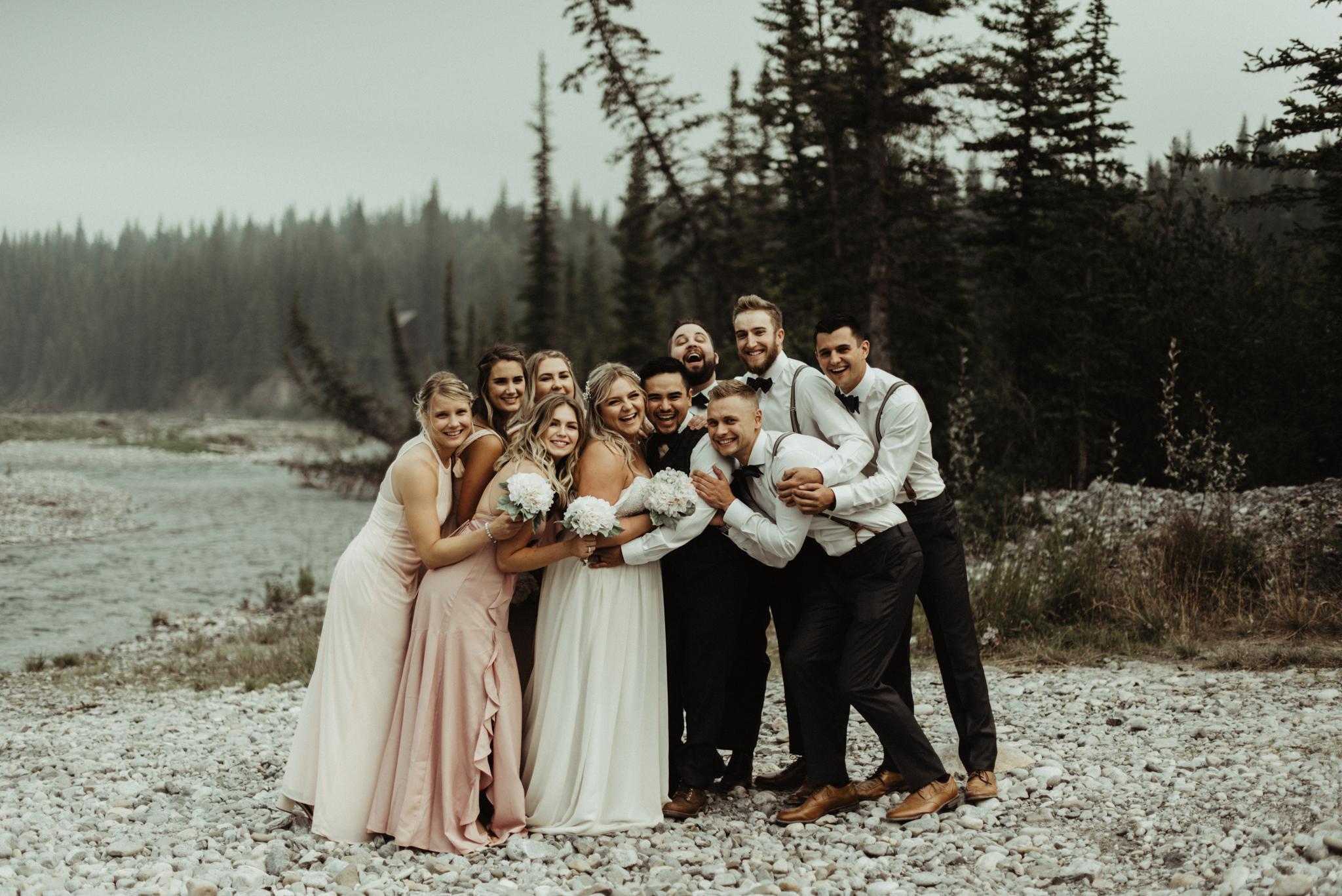 W+J - Calgary Wedding Photographer - Ghost Lake - Rocky Mountain Wedding-55.jpg