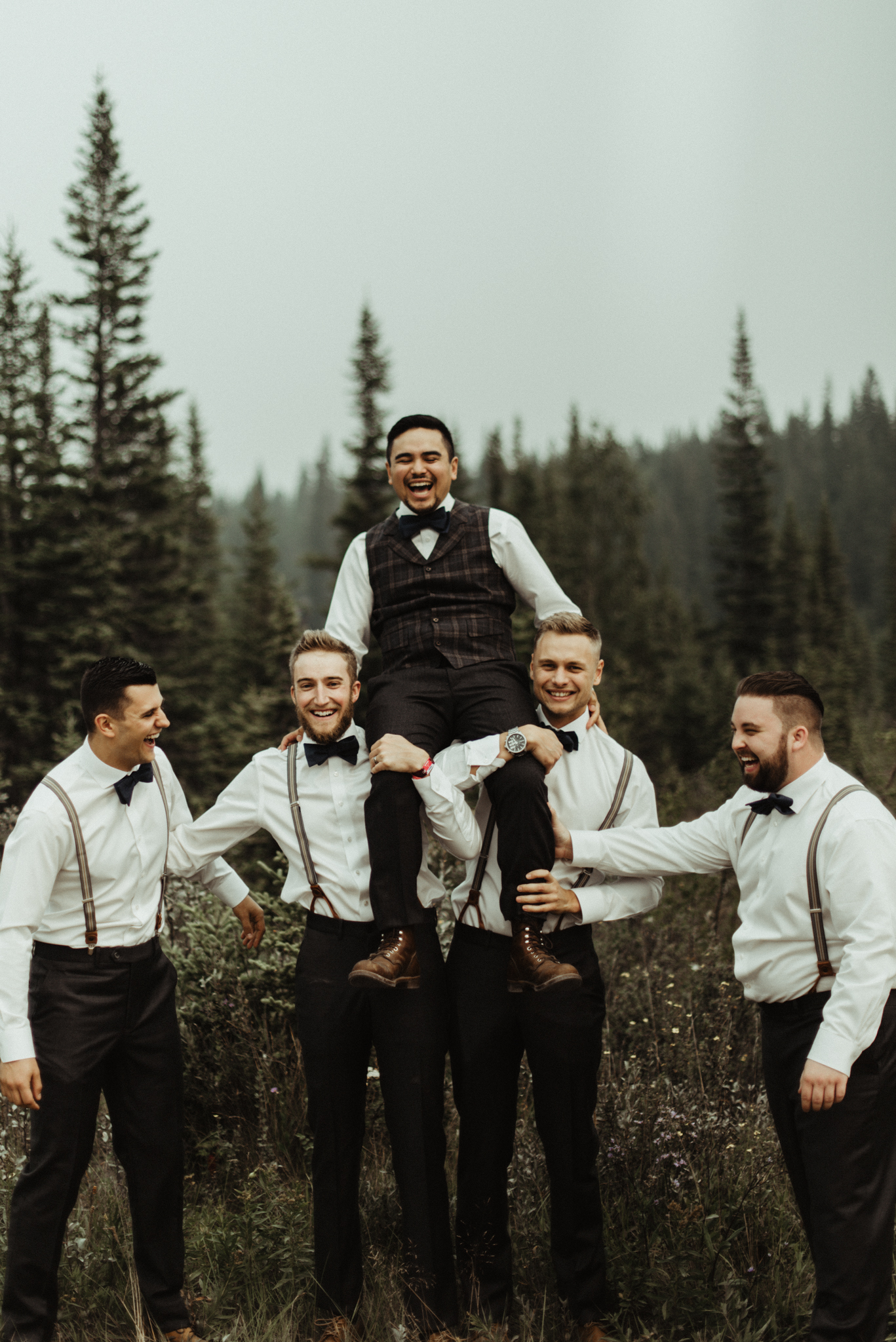 W+J - Calgary Wedding Photographer - Ghost Lake - Rocky Mountain Wedding-68.jpg