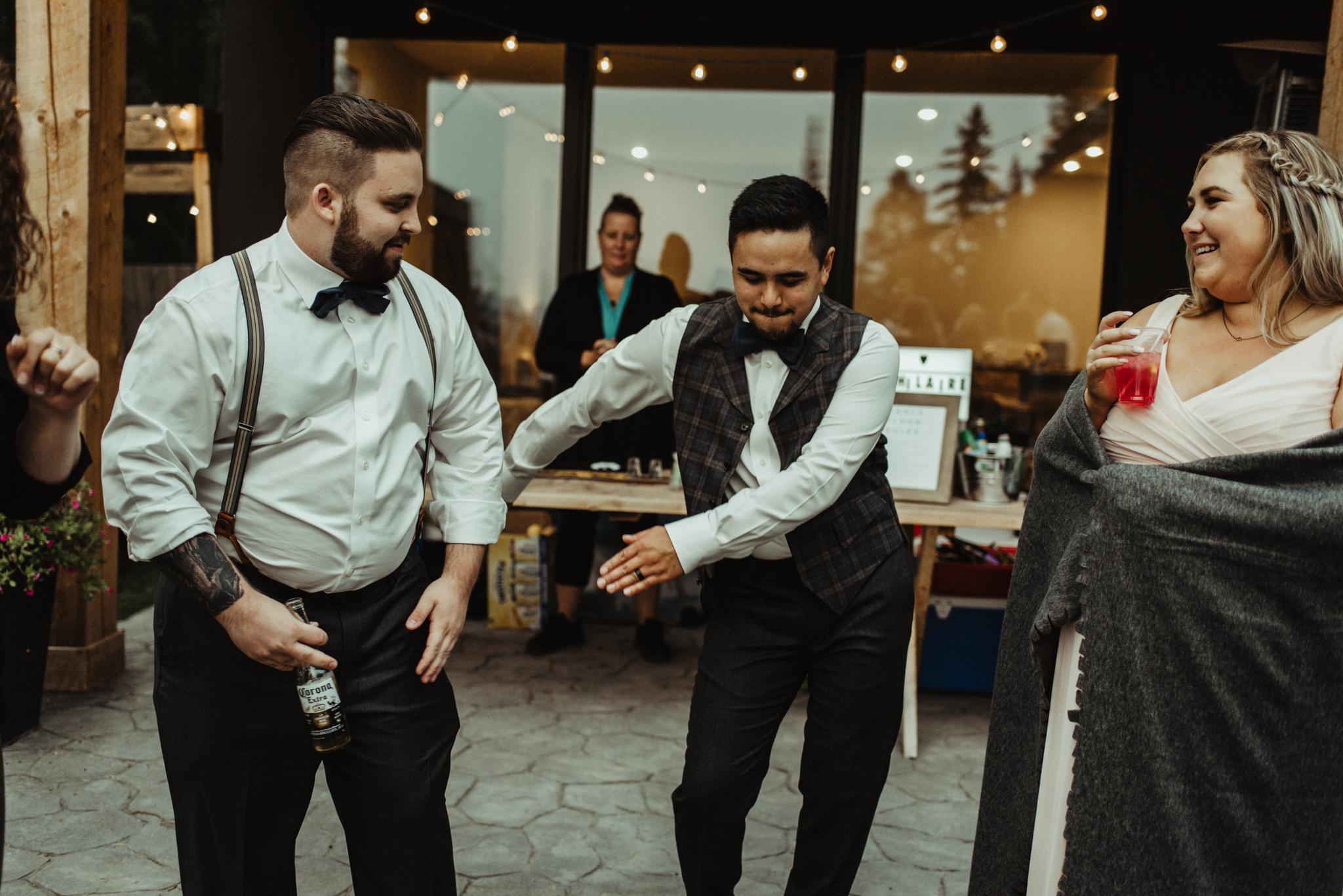 W+J - Calgary Wedding Photographer - Ghost Lake - Rocky Mountain Wedding-158.jpg