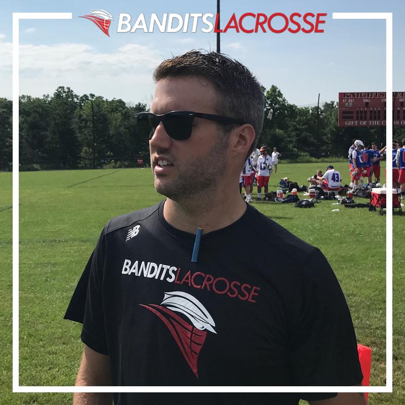 NATE MALATIN  Asst. Coach, Bandits 2022 Fmr. Asst. Coach, Abington HS SUNY Potsdam '06
