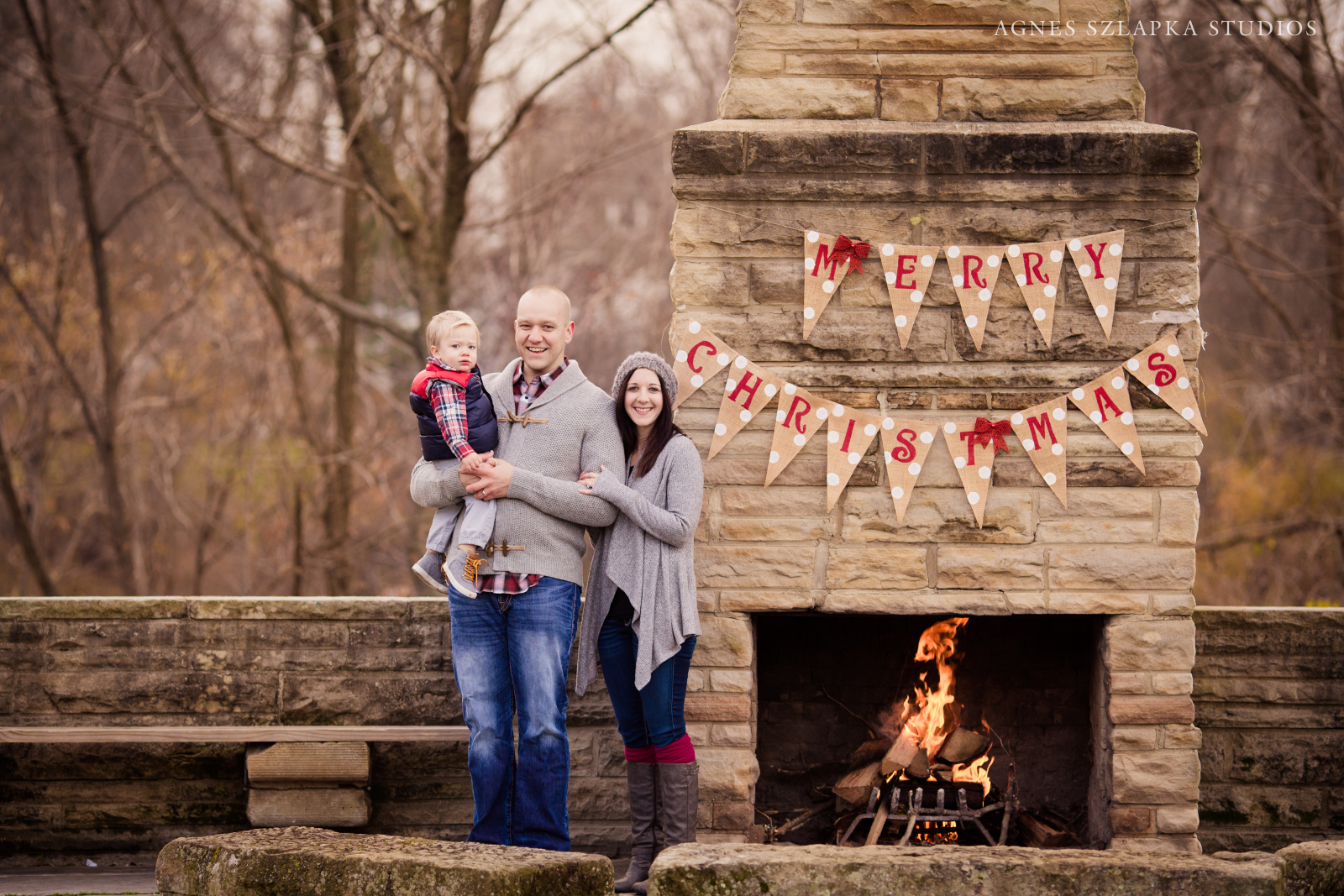 Family Christmas Session, Shaker Heights, Cleveland, Ohio Photographer