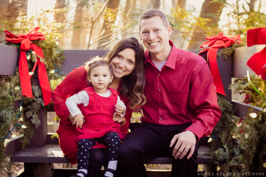 Family Christmas Session Chagrin Falls {Cleveland, Ohio Photographer}
