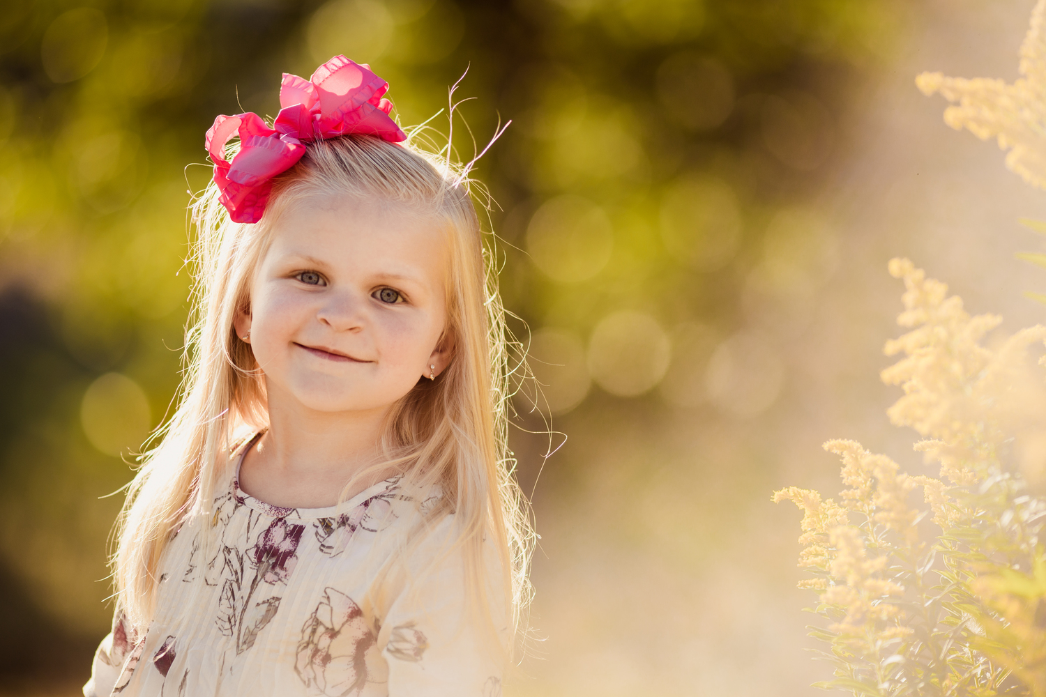 three year old girl smiling | cleveland kids photographer