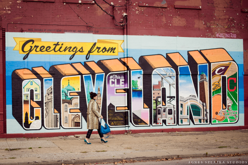 visiting ohio city, public art | cleveland ohio lifestyle photographer