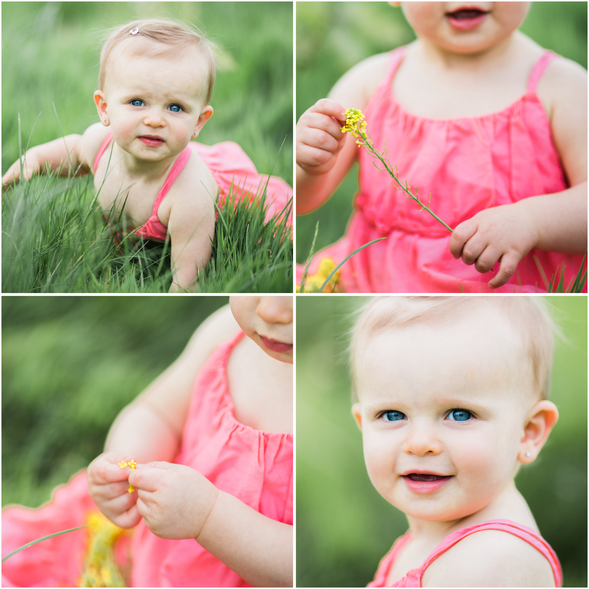one year old baby girl body details | cleveland, ohio kids photographer