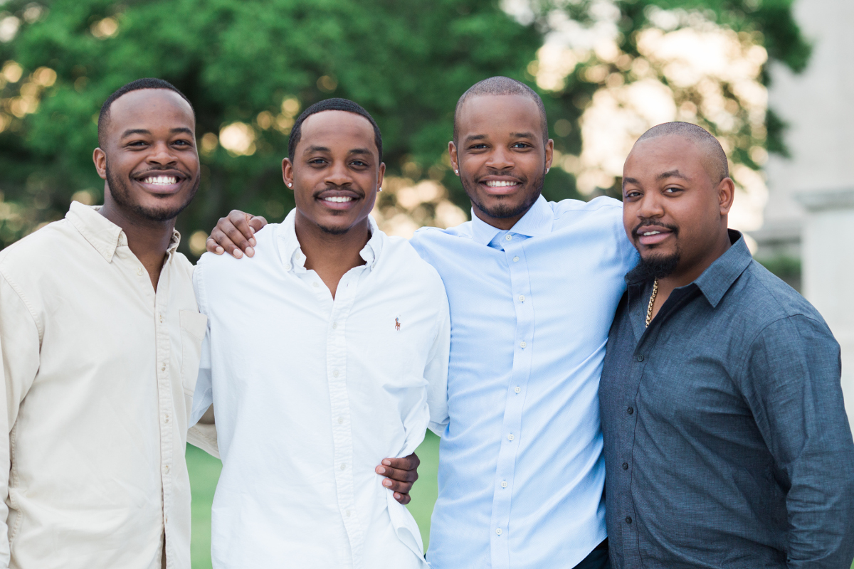 four brothers at wade lagoon | cleveland museum of art photographer