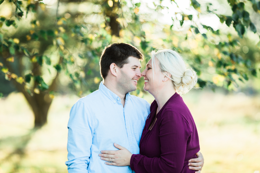parents looking into each others eyes | cleveland, OH family photographer