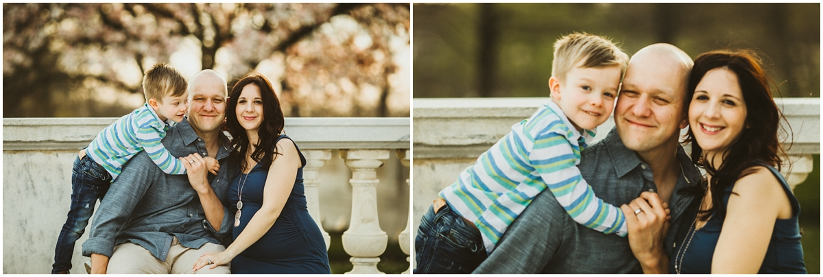 family of three expecting baby brother | cleveland, OH maternity photographer
