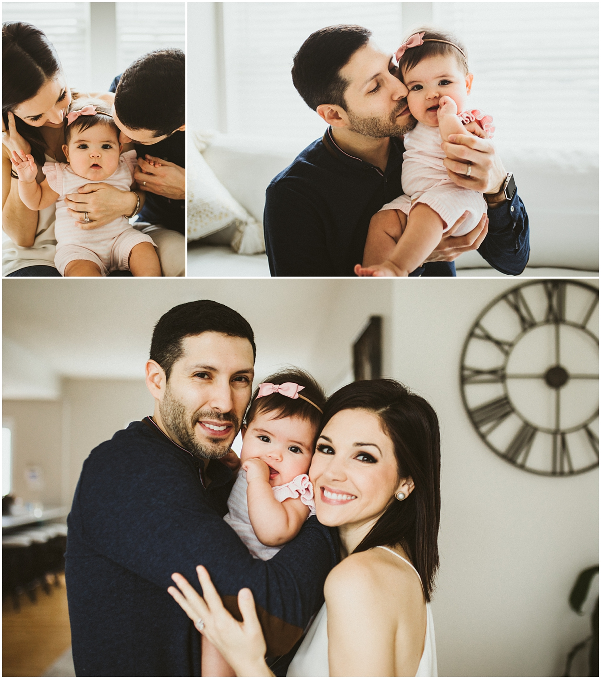 family of three with daughter | cleveland OH kids photographer