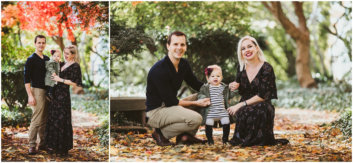 parents of 1 year old baby girl | cleveland, OH family photographer