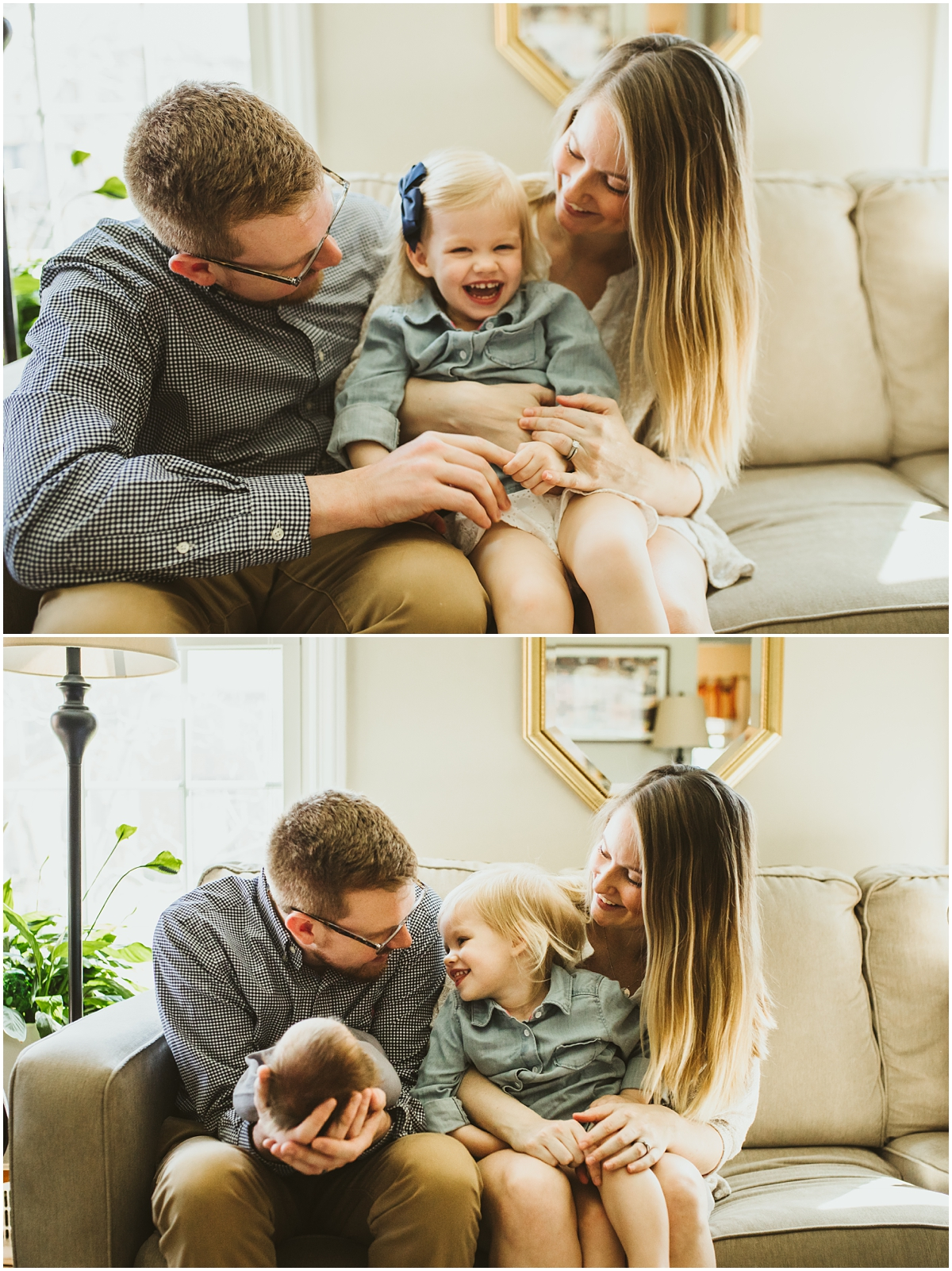 family of four | Cleveland, OH newborn photographer