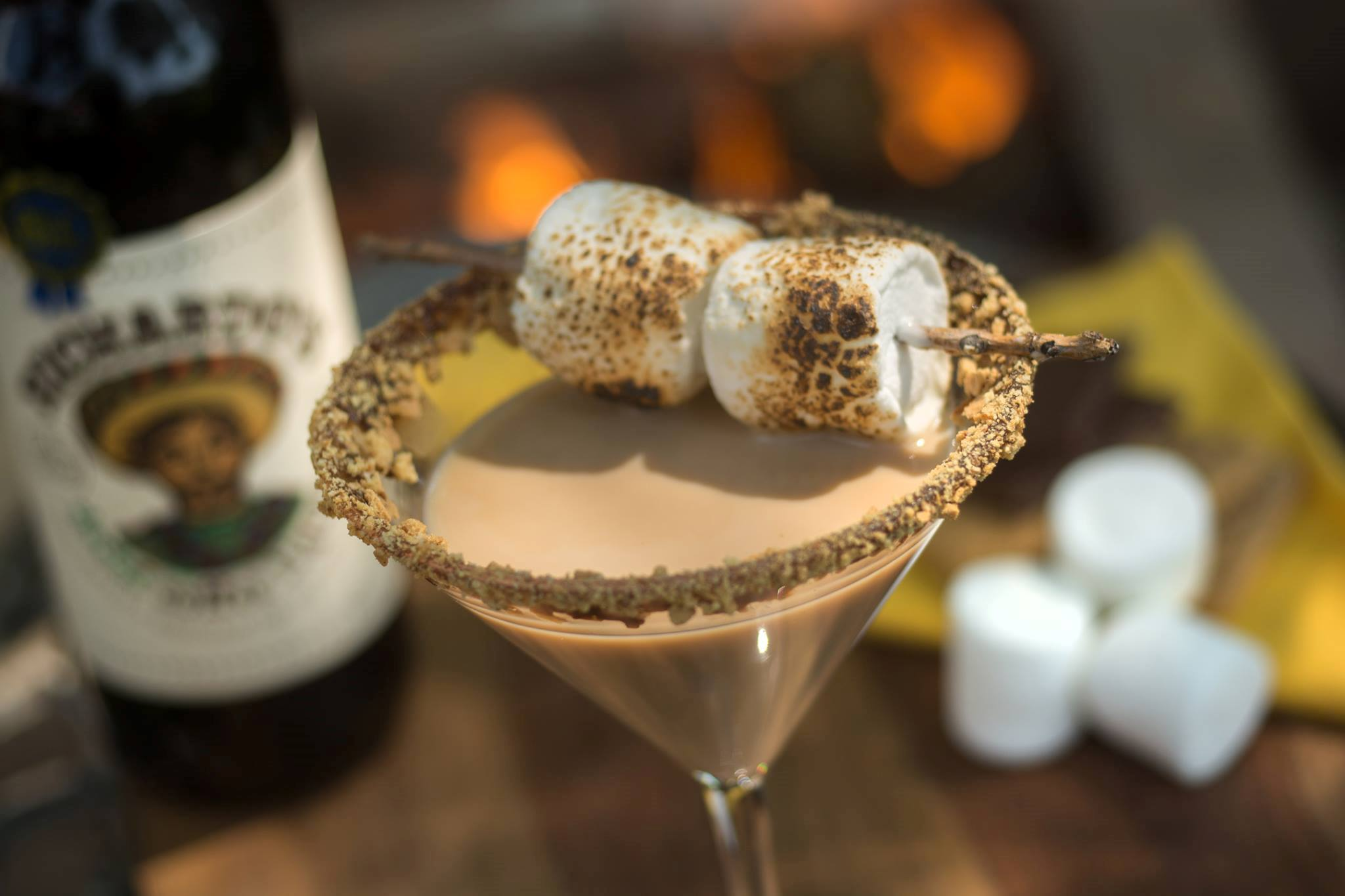 Richardo's S'mores Martini. You'll want s'more of that.