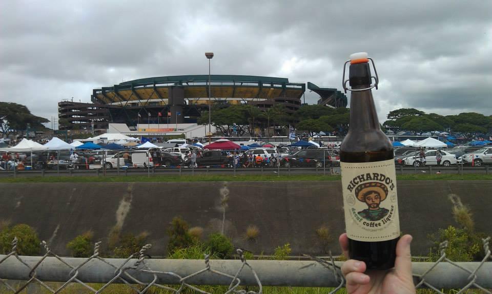 At the Pro Bowl in Honolulu, HI. Whoo Hoo!