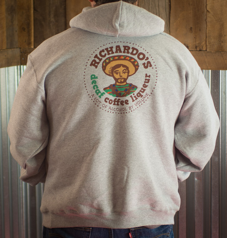 Gray Richardo's Hoodie (back)