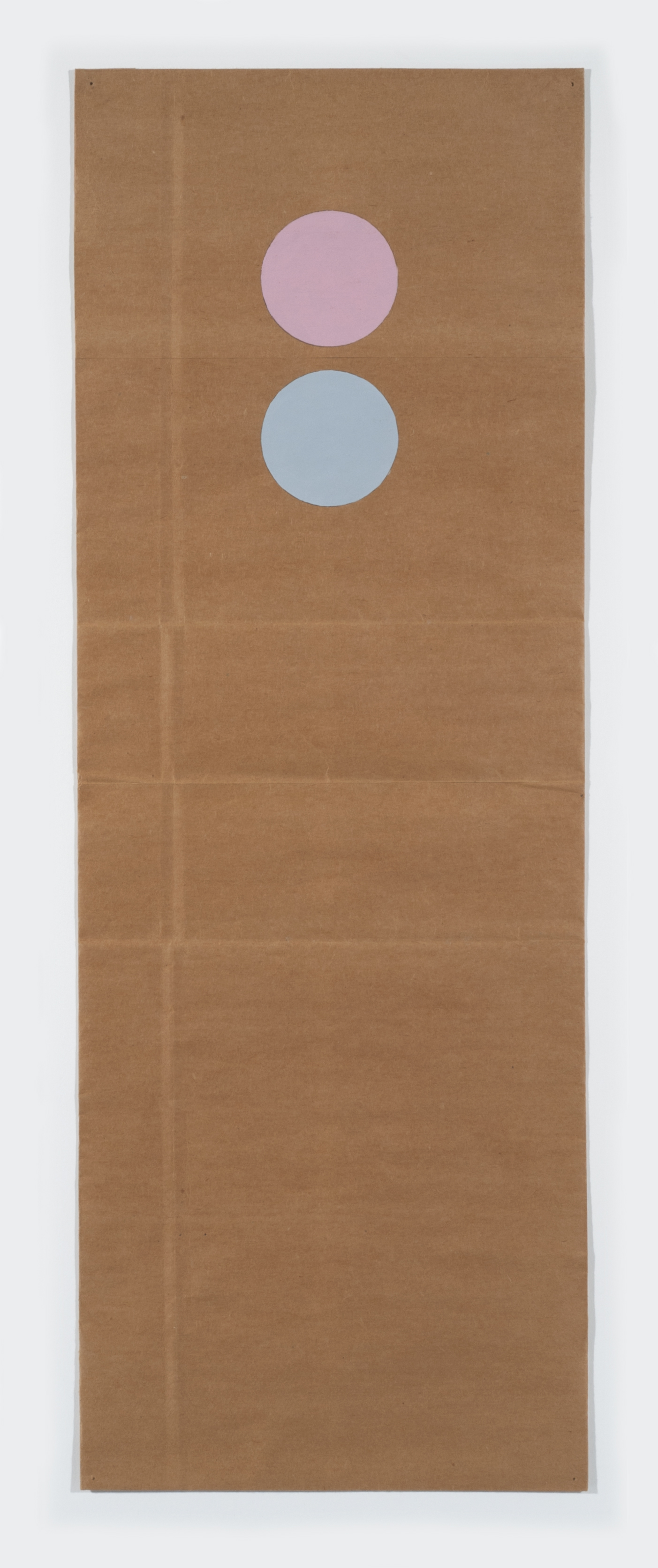 "Tom Downing  Noon , 1984 Acrylic on paper 30"" x 11"" framed Courtesy of Gallery 2112"