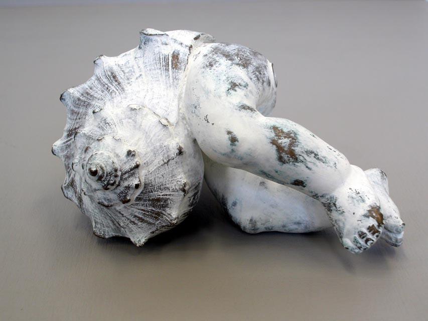 """Jeff Spaulding  Monument   2007 bronze 7.5"""" x 7.25"""" x 4.25"""""""